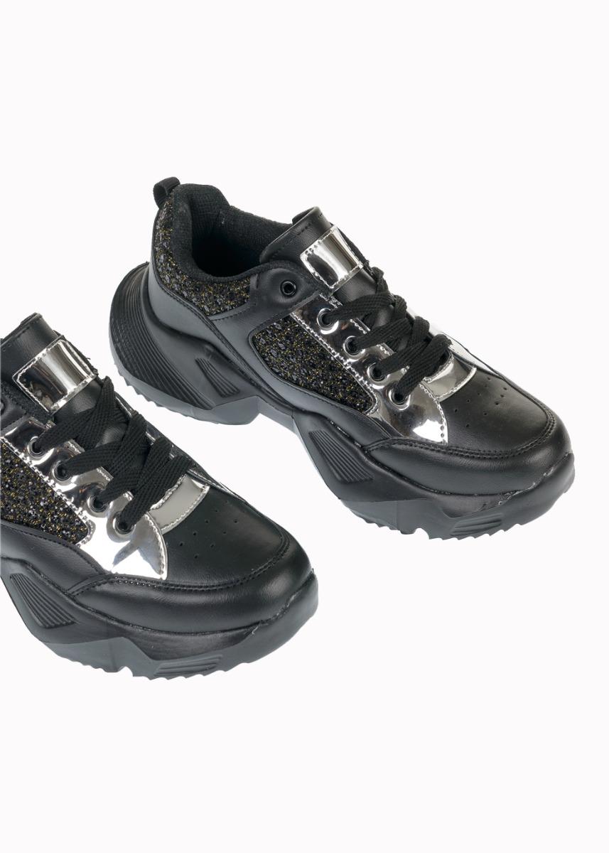 Yoko Αθλητικό Παπούτσι Sneaker, Μαύρο - Χρυσό