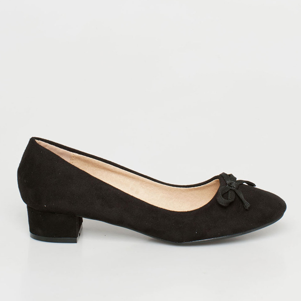 Velma pump shoe μαύρο