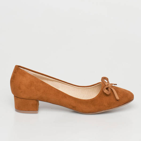 Velma pump shoe καμηλό