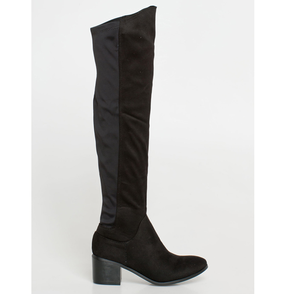 Kyra over the knee boot μαύρο