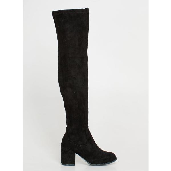 Vilma over the knee boot μαύρο
