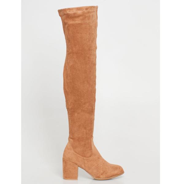 Vilma over the knee boot καμηλό