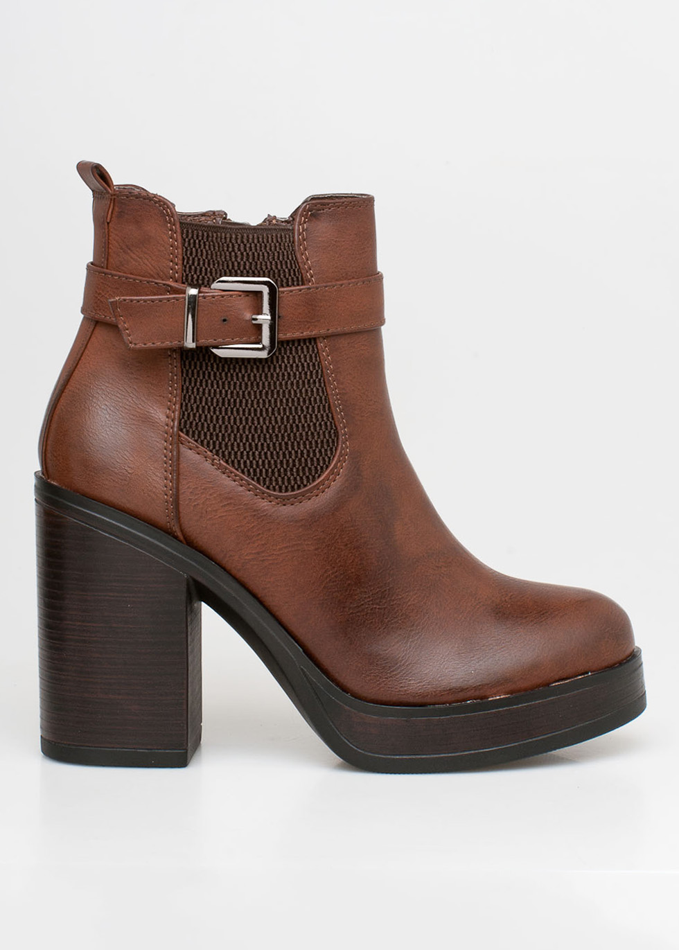 Pam chelsea boot καφέ