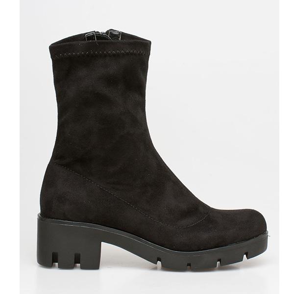 Fay sock boot μαύρο