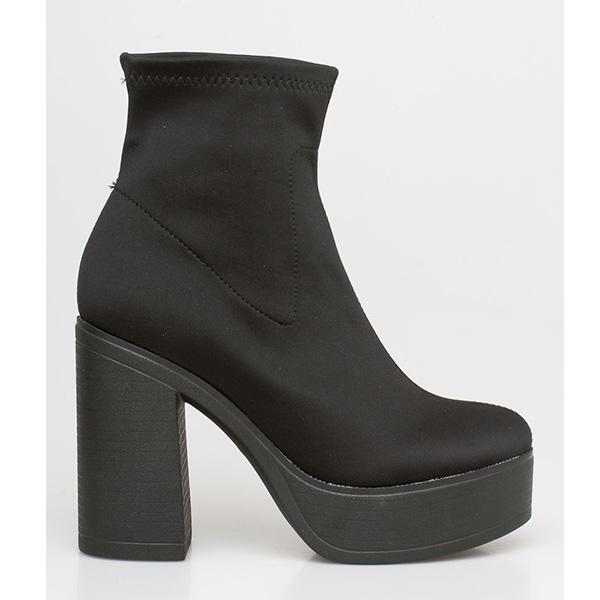 Gilda lycra boot μαύρο