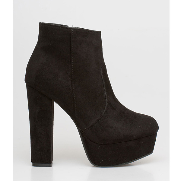 Bonnie ankle boot μαύρο
