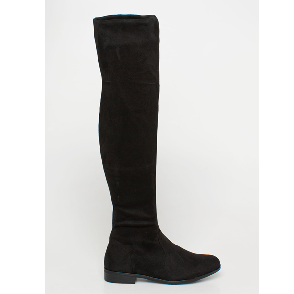 Gina over the knee boot μαύρο