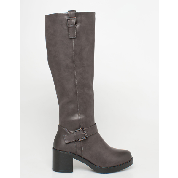 Lines leather like boot ea794f89031