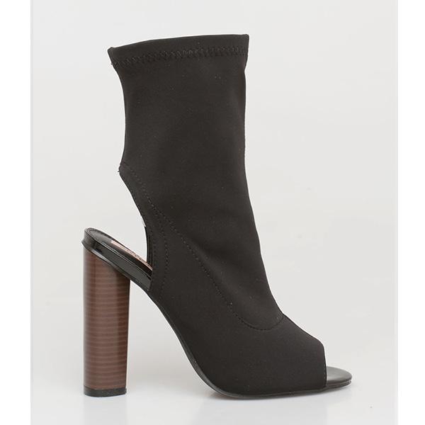 Marlin shoe boot μαύρο