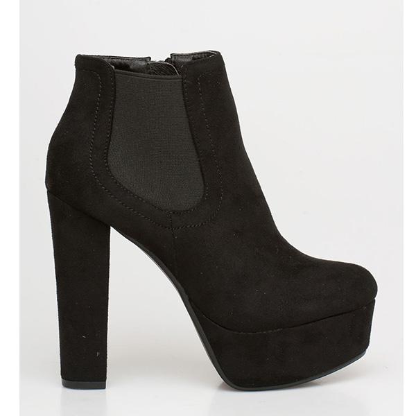 Vivian chelsea boot μαύρο