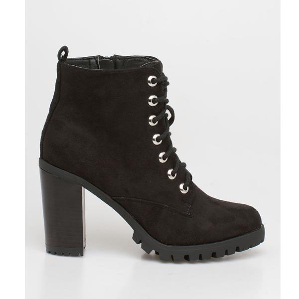 Liv block heel boot μαύρο