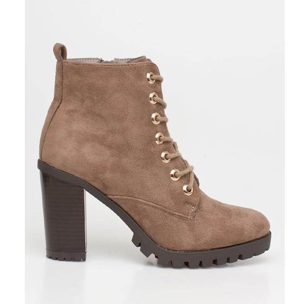 Liv block heel boot πούρου