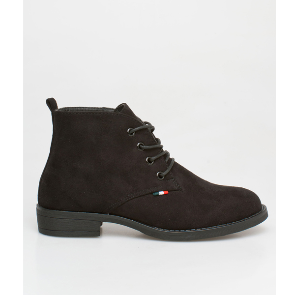 Linda ankle boot μαύρο