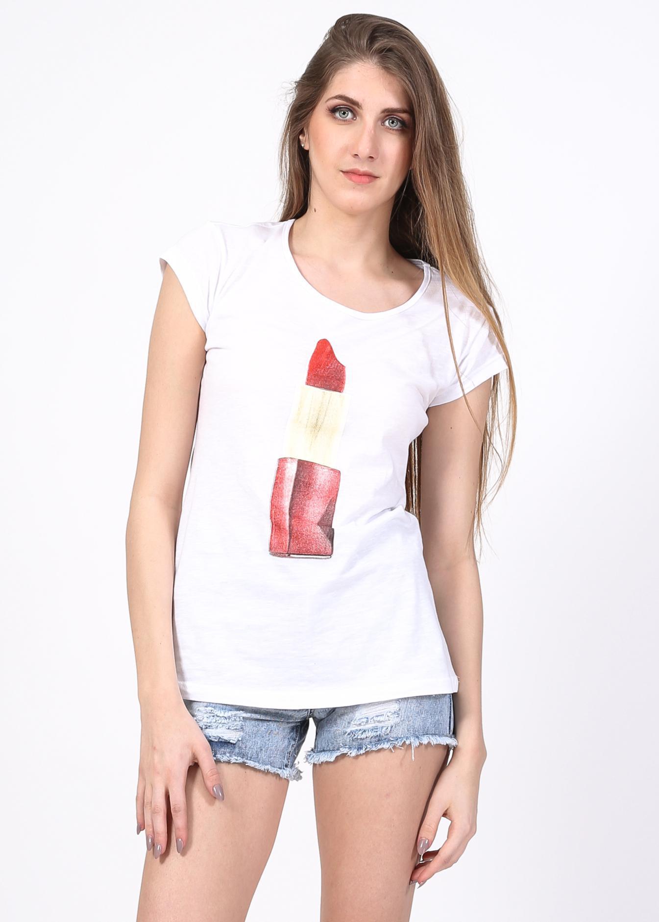 Colette t-shirt, λευκό ρούχα