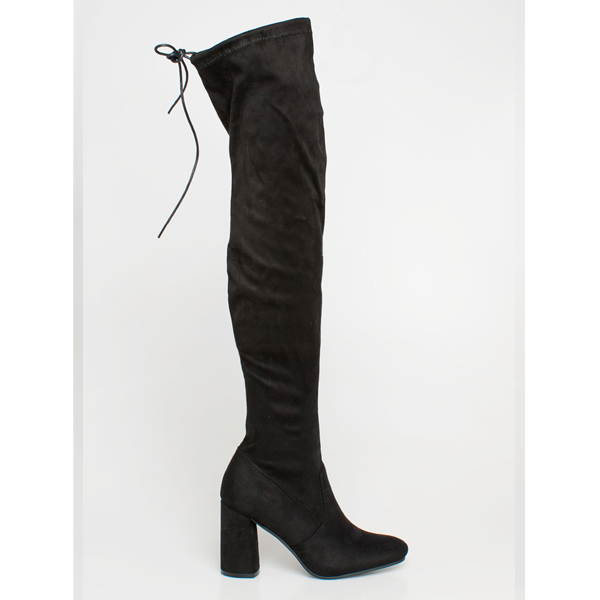 Zaria over the knee boot μαύρο