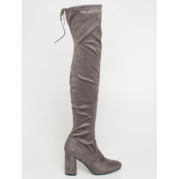 Zaria over the knee boot γκρι