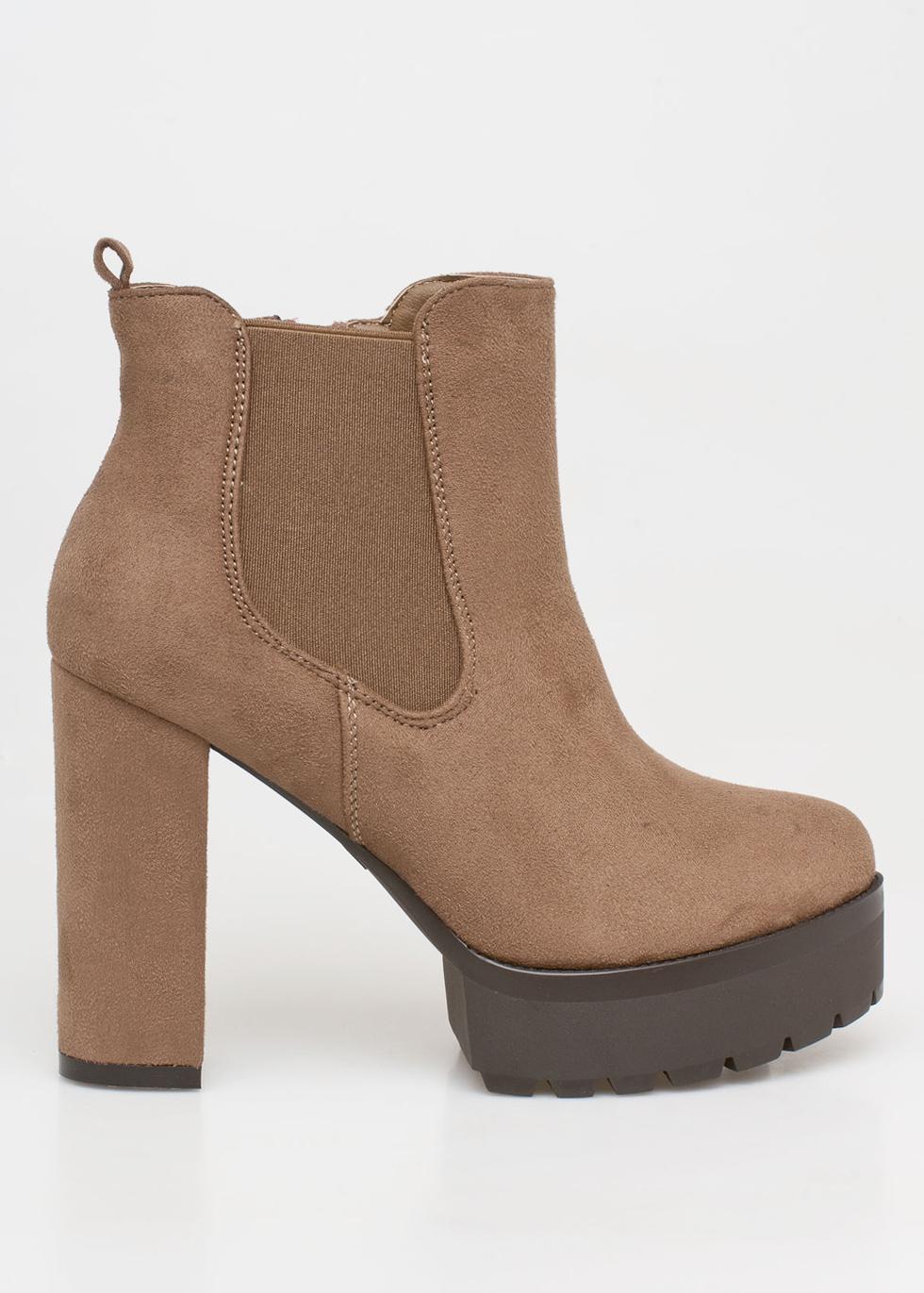 Brooke chelsea boot, μπεζ μποτάκια