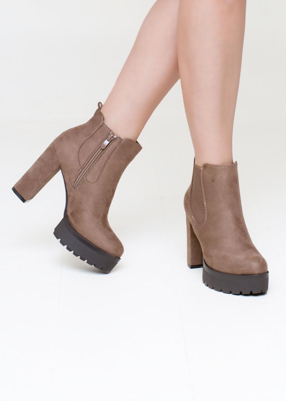 Brooke chelsea boot, μπεζ