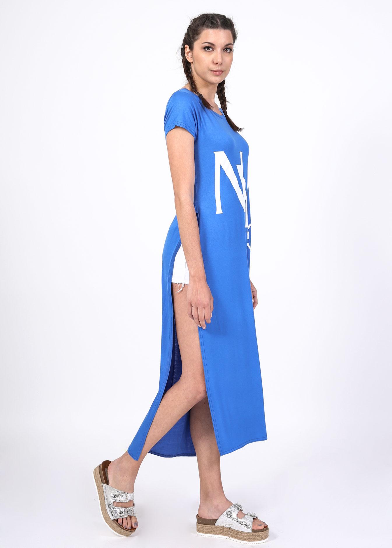 York longline μπλούζα, μπλε ρούχα