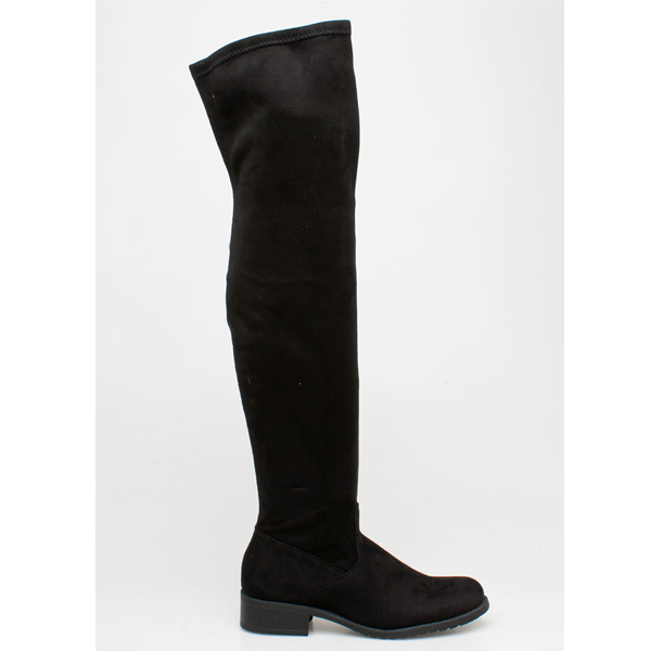 Gladys over the knee boot μαύρο