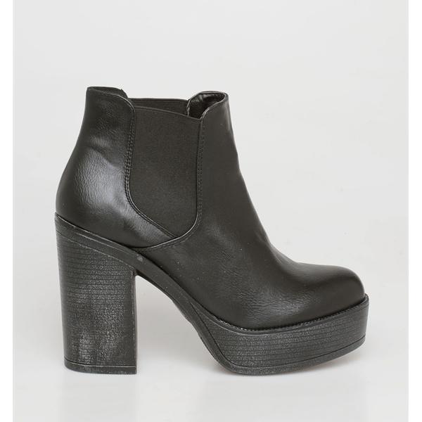 Daisy chelsea boot μαύρο