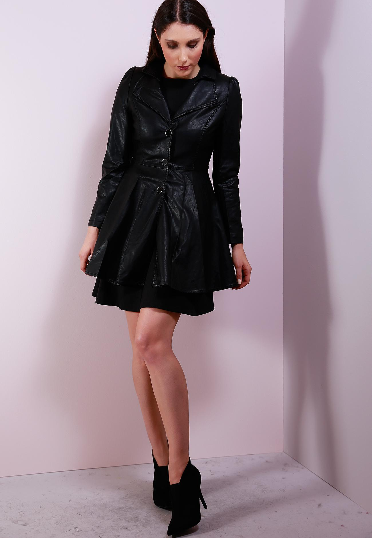 Καμπαρντίνα - Μαύρο ρούχα