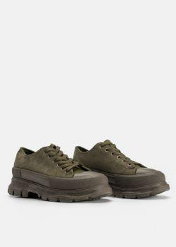 Arte Piedi Kat Γυναικεία Αθλητικά Παπούτσια Sneaker, Λαδί