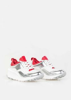 Arte Piedi Helena Δερμάτινα Αθλητικά Παπούτσια Sneaker, Λευκό