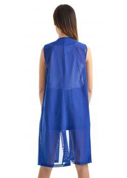 Γιλέκο - Μπλε
