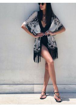 Denise Δερμάτινο Σανδάλι | Μαύρο