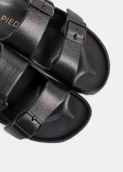 Freema Sliders Σανδάλια - Παντόφλες, Μαύρο