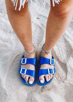 Freema Sliders Σανδάλια - Παντόφλες, Μπλε
