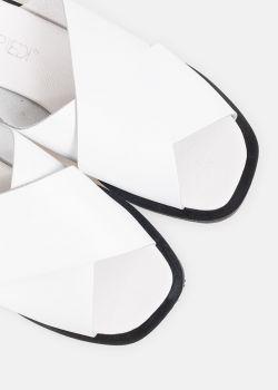 Rhythm Σανδάλια Χιαστί, Λευκό