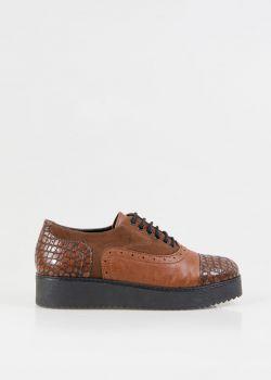 Lorna Oxford Παπούτσια, Καφέ