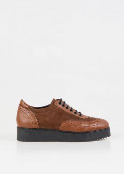 Bonie Oxford Παπούτσια, Καφέ
