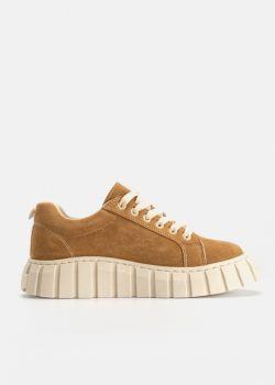 Matty Αθλητικά Παπούτσια Sneaker, Καμηλό