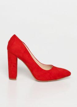 Perla Suede Γόβα | Κόκκινο
