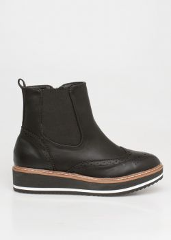 Miley oxford boot, μαύρο