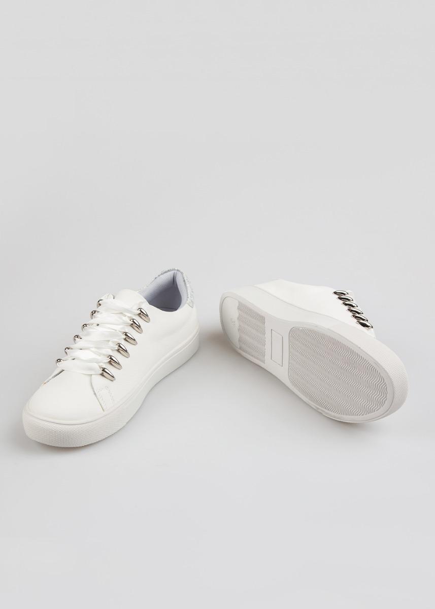 Nousa Αθλητικό Sneaker, Λευκό
